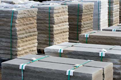 We carry all your paver supplies, like limestone caps