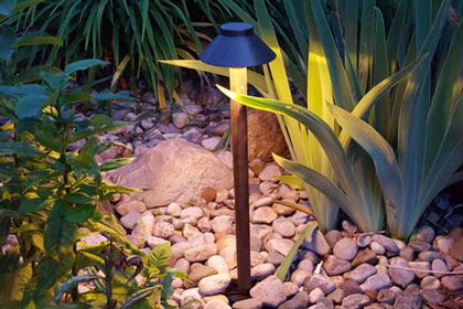 We carry industry-leading Sollos Landscape Lighting low-voltage lighting products